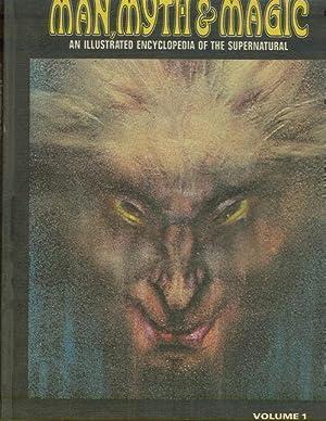 MAN, MYTH AND MAGIC An Illustrated Encyclopedia: Cavendish, Richard editor