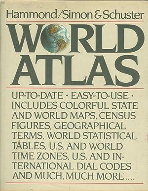 Hammond world atlas abebooks hammondsimon and schuster world atlas gumiabroncs Gallery