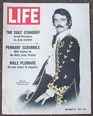 LIFE MAGAZINE SEPTEMBER 25, 1970: Life Magazine
