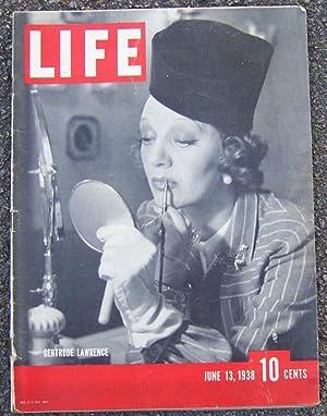 LIFE MAGAZINE JUNE 13, 1938: Life Magazine