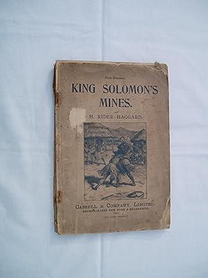King Solomon's Mines: Haggard, H. Rider.