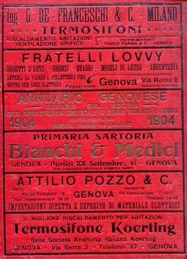 Annuario Genovese (Lunario Signor Regina). Guida Amministrativa,