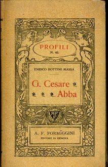 Giuseppe Cesare Abba: Bottini Massa Enrico