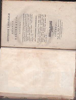 Methodi Linnaeanae Botanicae delineatio, exhibens Characteres Essentiales: Gilibert Jean Emmanuel