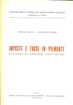 Imposte e tasse in Piemonte durante il: Norsa Paolo -