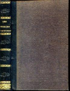 Les Feuilles d'Automne, suivie de plusieurs pièces: Hugo Victor