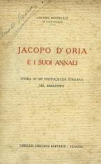 Jacopo D'Oria e i suoi Annali. Storia: Imperiale di Sant'Angelo