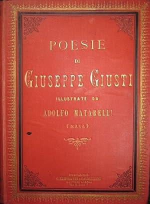 Poesie illustrate da Adolfo Matarelli commentate da: Giusti Giuseppe