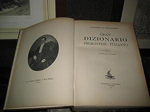 Gran dizionario piemontese-italiano. Con presentazione di Corrado: Sant'Albino Vittorio di