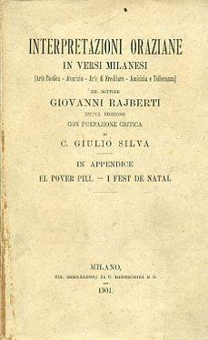 Interpretazioni oraziane in versi milanesi (Arte Poetica: Orazio Flacco Quinto