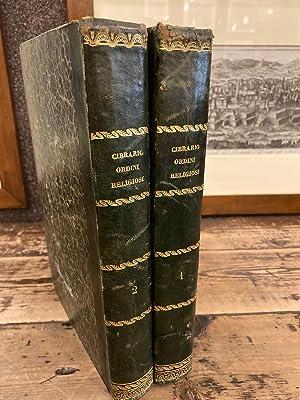 Descrizione storica degli Ordini Religiosi compilata sulle: Cibrario Luigi