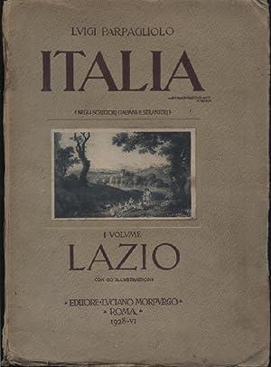 Italia (negli scrittori italiani e stranieri). I: Parpagliolo Luigi