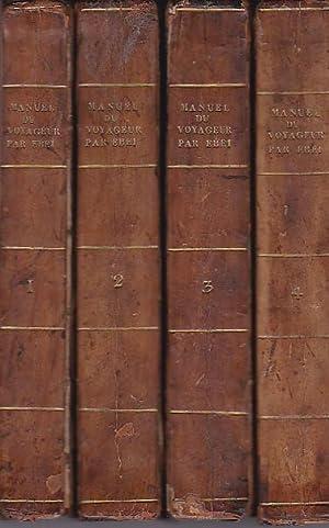 Manuel du Voyageur en Suisse. Ouvrage où: Ebel Johann Gottfried