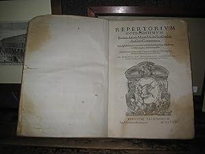 Repertorium copiosissimum, in omnia Iasonis Mayni Mediol.: Dal Mayno Giasone