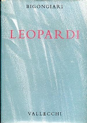 Leopardi: Bigongiari Piero