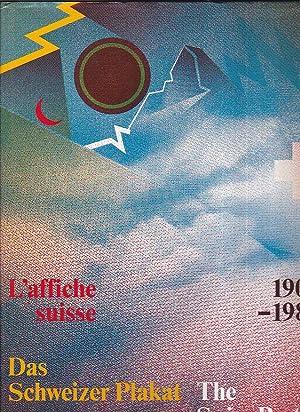 Das Schweizer Plakat. The Swiss Poster. L'affiche: Margadant Bruno