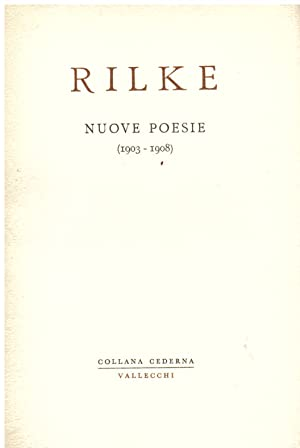 Rainer Maria Rilke Used First Edition Not Printed On