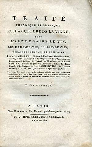 Traité théorique et pratique sur la culture: Chaptal - Rozier