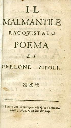 Il Malmantile Racquistato. Poema: Lippi Lorenzo (Pierleone
