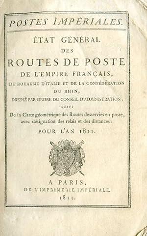 Postes Impériales. État général des routes de