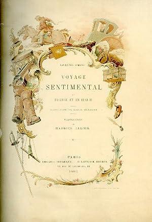 Voyage Sentimental en France et en Italie.: Sterne Laurence