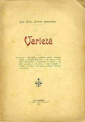 Varietà. Le zanzare - Benedetta o maledetta: Bizzarrini Giotto