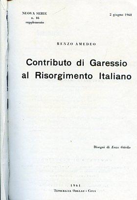 Contributo di Garessio al Risorgimento italiano: Amedeo Renzo