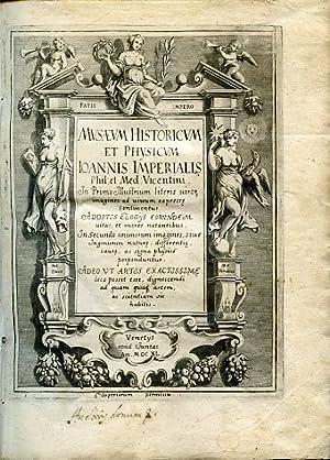 Musaeum Historicum et Physicum Ioannis Imperialis phil.: Imperiali Giovanni