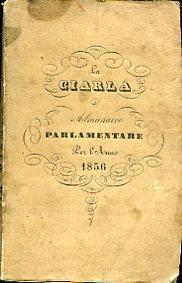 La Ciarla. Almanacco Parlamentare per l'anno 1856. Studi: Mongibello Giuseppe