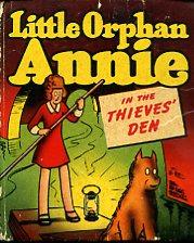 Little Orphan Annie in the thieves' den.: Berke Helen