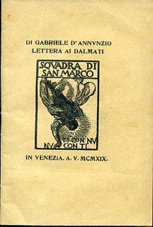 Lettera ai Dalmati: D'Annunzio Gabriele
