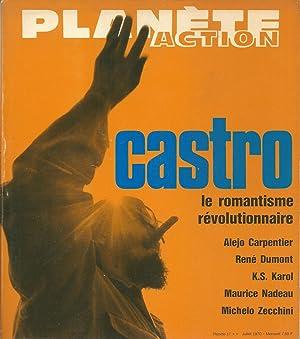 Planète Action n° 17 Juillet 1970. Castro: collectif