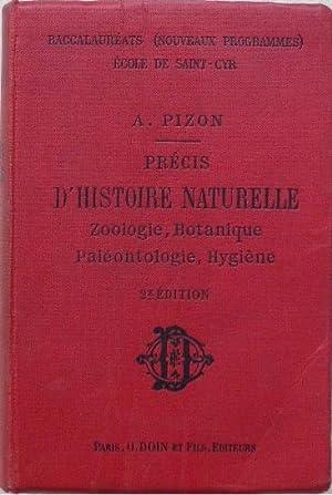Précis d'histoire naturelle. Zoologie, botanique, paléontologie, hygiène....