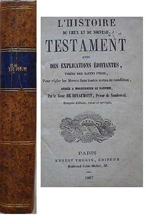 L'histoire du vieux et du nouveau testament: De Royaumont, Prieur