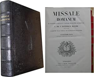 Missale Romanum - Ex Decreto Sacrosancti Concilii: Anonyme