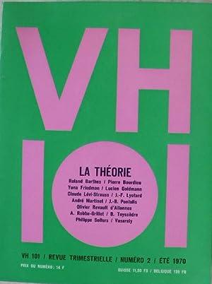 VH 101. La théorie. - Revue trimestrielle, numéro 2.: Collectif