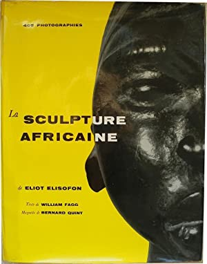 La sculpture africaine.