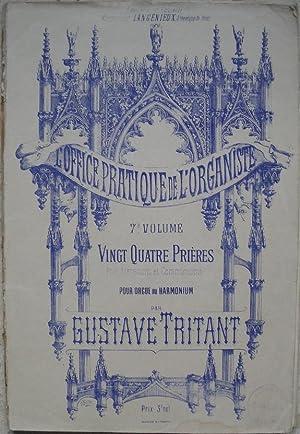 L'office pratique de l'organiste. 7e volume. Vingt: Tritant (Gustave)
