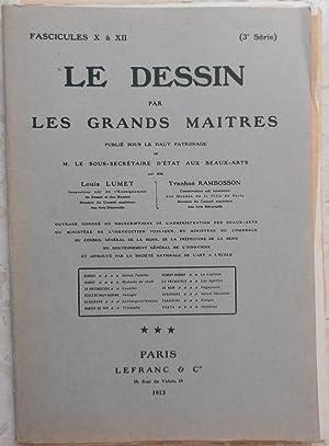 Le dessin par les grands Maîtres (3e: Lumet (Louis), Rambosson