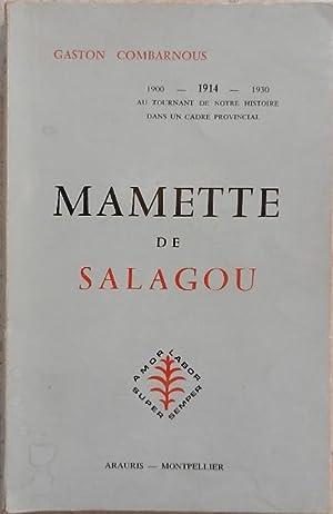 Mamette de Salagou.: Combarnous (Gaston)