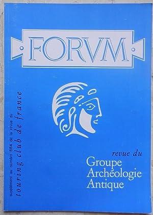 Forum, revue du Groupe Archéologique Antique, N°: Collectif