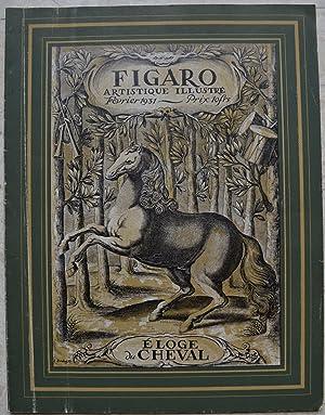 Eloge du cheval. - Figaro artistique illustré,: Collectif
