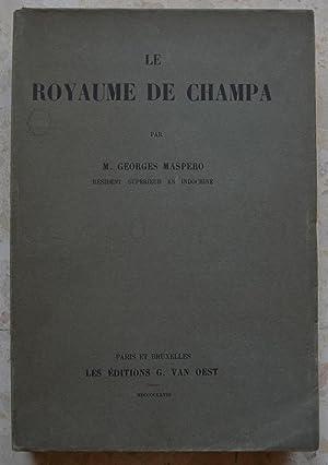 Le royaume de Champa.: Maspero (Georges), résident