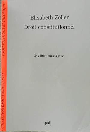 Droit constitutionnel.