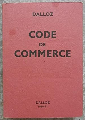 Code de commerce.