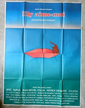 AFFICHE ORIGINALE CINEMA
