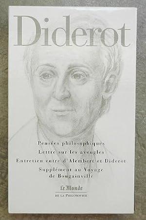 Pensées philosophiques - Lettre sur les aveugles: Diderot