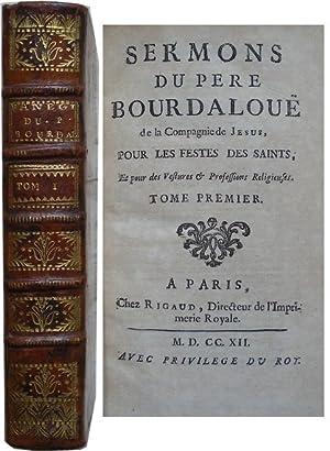 Sermons du pere Bourdaloue de la Compagnie: Bourdaloue