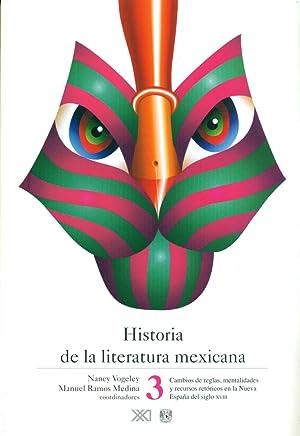 Historia de la literatura mexicana desde sus origenes hasta nuestros dias, 3: Cambios de reglas, ...