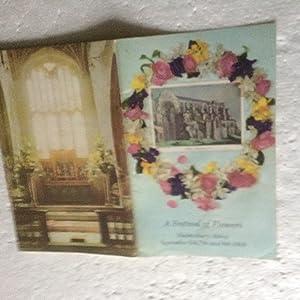 Festival of Flowers at Malmesbury Abbey ,: Barnard Mary: